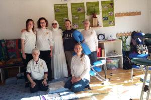 Community Shiatsu at the Hidden Gardens Glasgow