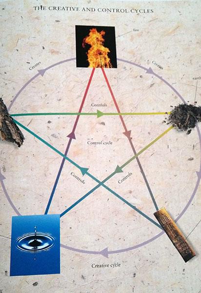 TCM 5 element chart