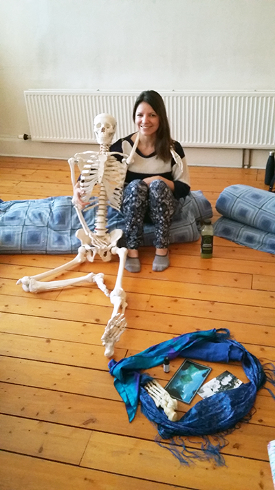 Train with the Glasgow School of Shiatsu and meet Fred the skeleton!